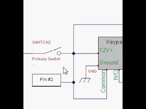 wiring diagram of 240sx keypad push button start Nissan Fuel Pump Relay Wiring