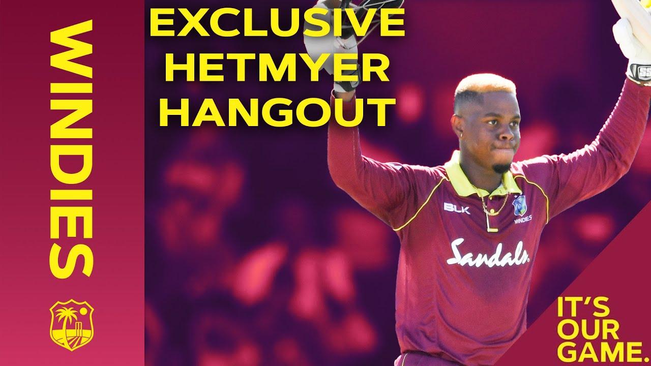 Hetmyer chats IPL & the Universe Boss! | Maroon Hangout with Shimron Hetmyer | Windies