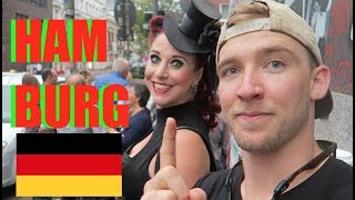 2 AMERICANS vist Reeperbahn in Hamburg, Germany! (with @itsConnerSully)