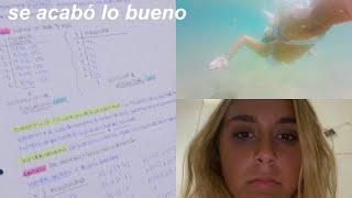 weekly vlog: vuelta a clase y lloros intensos