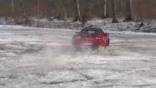 Dueling Drifting Tesla Roadsters