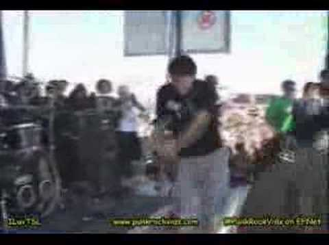 The starting line - best of me live warped tour