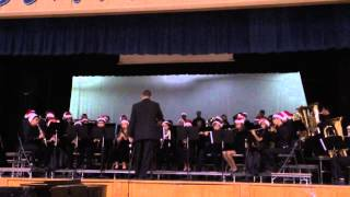 2013 Torrance North High School Winter Concert (Saxons Band)