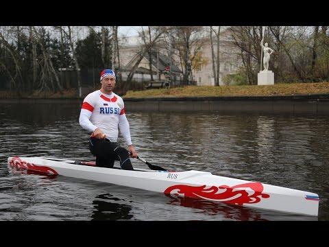 Training session with Shtokalov Ilya (Илья Штокалов гребля на каноэ)