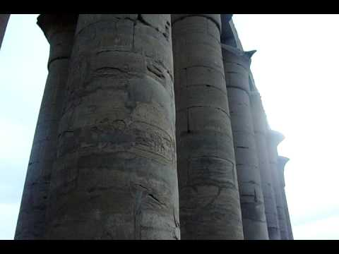 Luxor temple. Holly Land trip 1-4-09