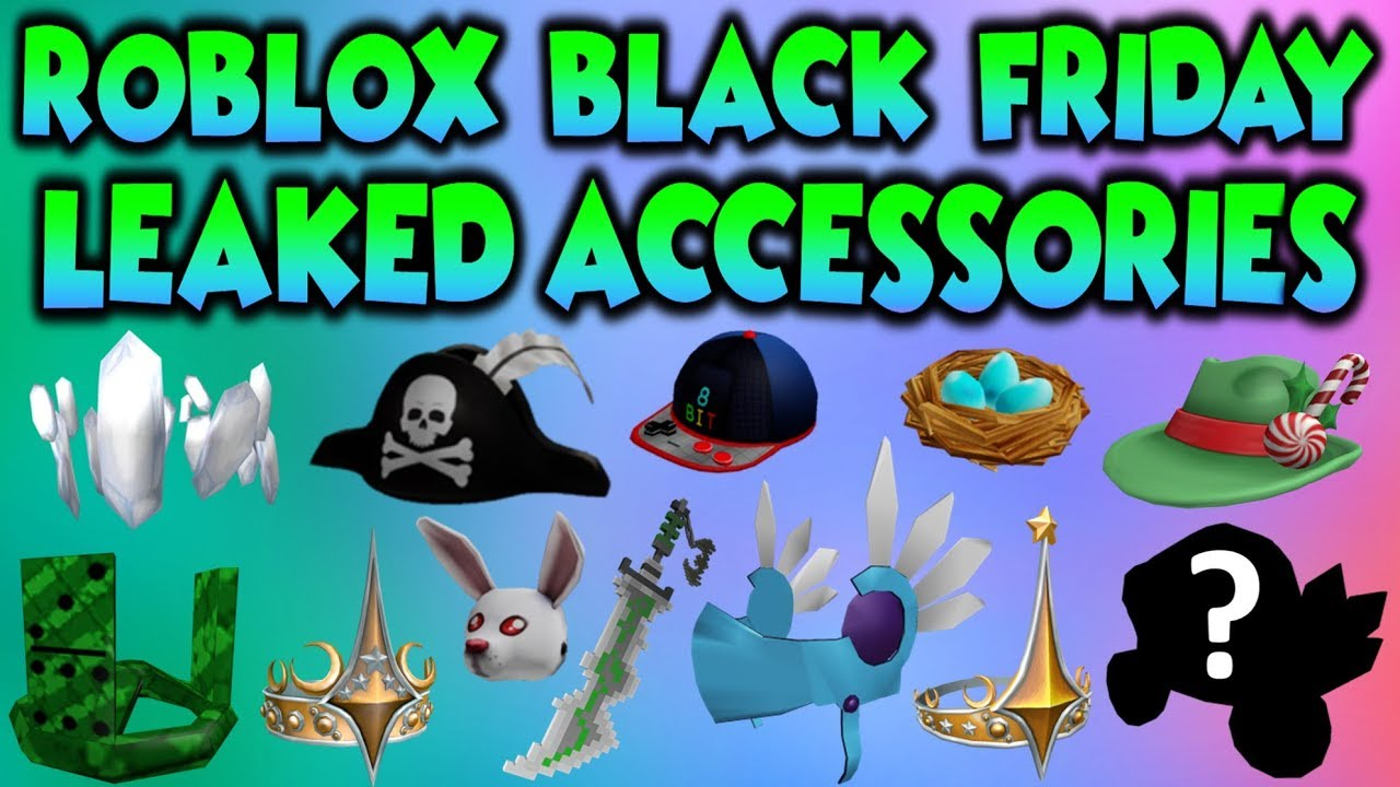 Roblox 2019 Hat Omg Roblox Black Friday 2019 Leaked Hats Youtube