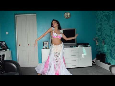 Drum Solo Belly Dance Improvisation By Farrah