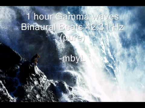 1 hour Gamma Binaural Beats 42.31 Hz -  Increase your Mental Brain Activity