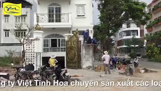 Cổng nhôm đúc Trà Vinh