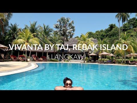 VIVANTA BY TAJ REBAK ISLAND, LANGKAWI MALAYSIA TRAVEL VLOG / Nishi V