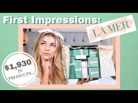 TESTING $1930 IN LA MER PRODUCTS | Angelique Cooper