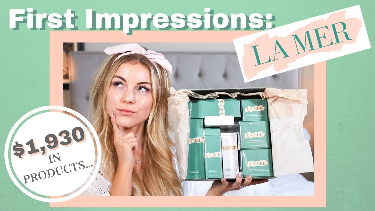 TESTING $1930 IN LA MER PRODUCTS