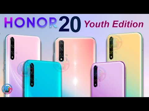 Honor 20 Youth Edition Coming With - 5 CURRENT DESIGNS!!!
