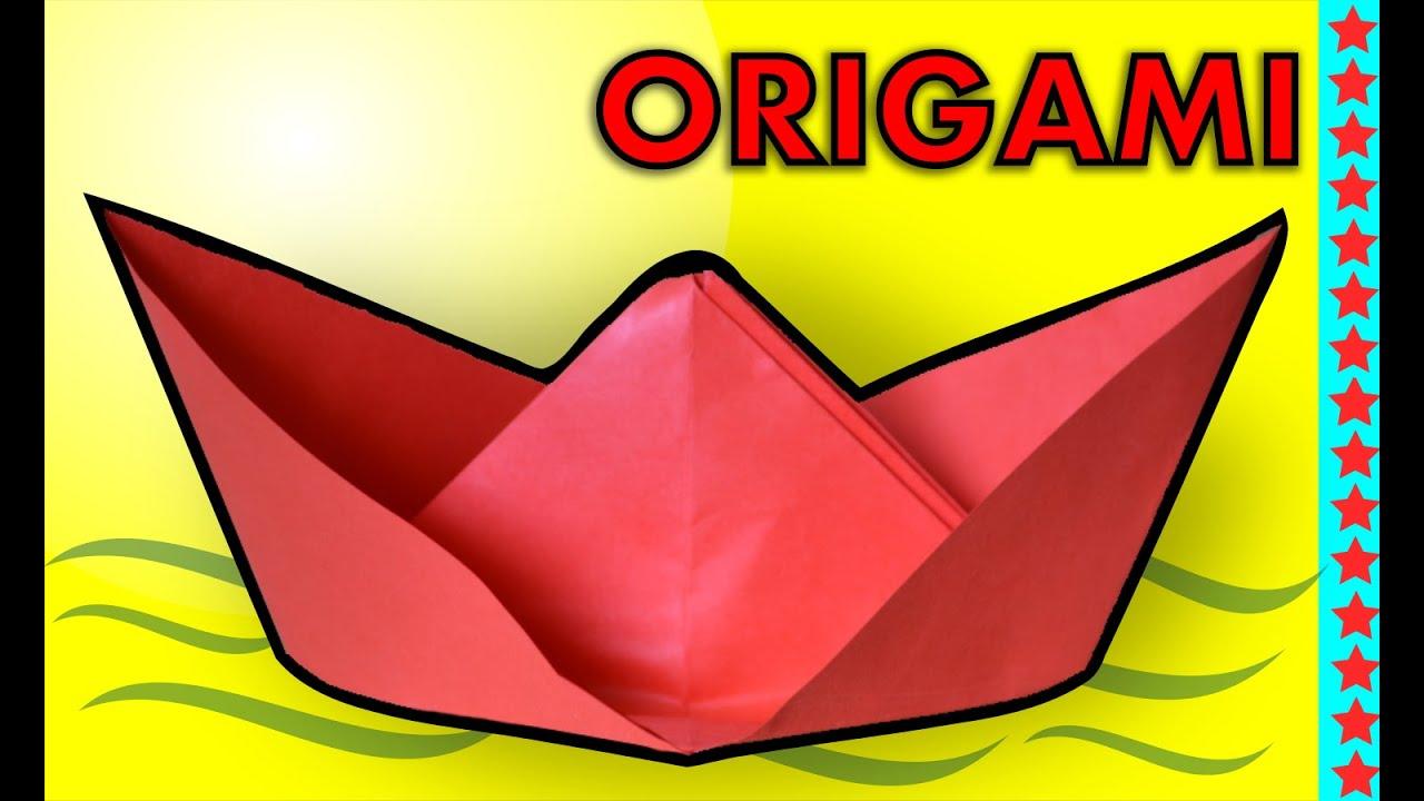 Origami Bateau Pirate Facile Comment Faire Un Bateau En Papier Youtube