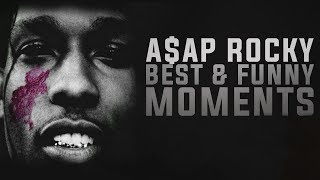 A$AP Rocky Funny and Best Moments - Funny Videos 2016
