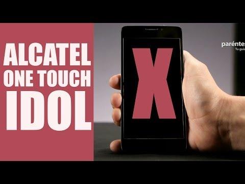 Reseña en video del celular Alcatel One Touch Idol X