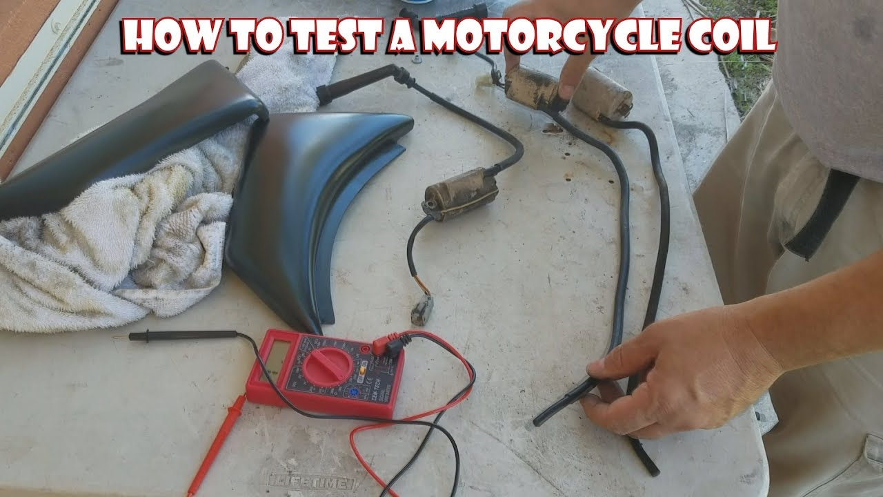 How to test a motorcycle coil
