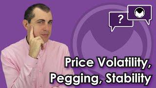 Bitcoin Q&A: Price volatility, pegging, stability