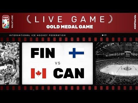 Finland – Canada   Live   FINAL   2021 IIHF Ice Hockey World Championship
