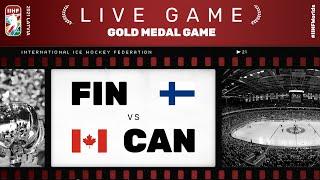 Finland – Canada | Live | FINAL | 2021 IIHF Ice Hockey World Championship