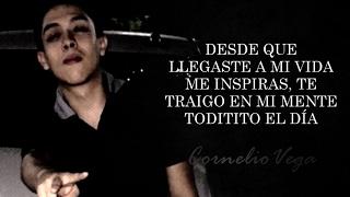 (LETRA) ¨POR ESTAR CONTIGO¨ - Cornelio Vega Jr (Video Lyric) (2017)