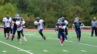 DAngelo Dee Tull #7 2013 Metro AYF Southern MD Elite Maryland Youth Football Highlights