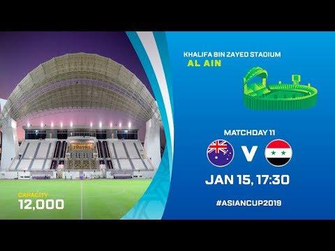 Matchday Guide: Australia V Syria