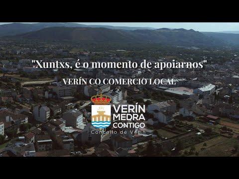 VÍDEO | O Concello de Verín apoia ao comercio da vila con esta produción audiovisual