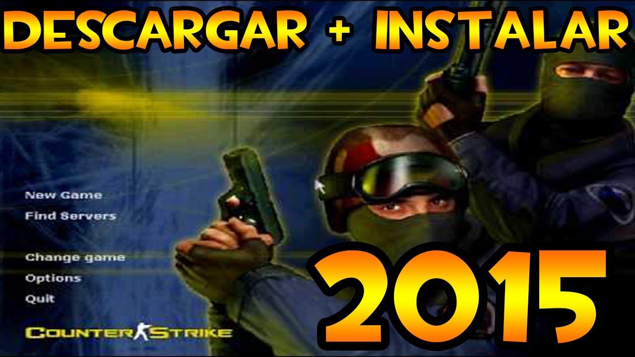 Como DESCARGAR Counter Strike 1.6 | Windows 10