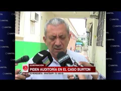 Gobernación solicita auditoria interna por el caso del jugador Paúl Burton
