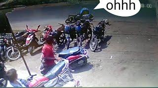 Bike accident !!!!!