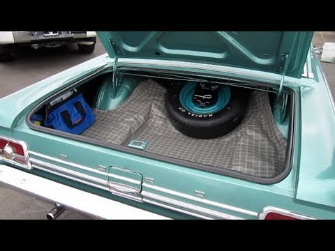 1965 Ford Fairlane 500 2-Door Trunk Restoration (How to, before