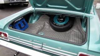 1965 Ford Fairlane 500 2-Door Trunk Restoration (How to, before/after)