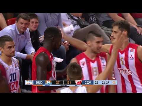 Faye protects the rim like a boss! (Budućnost VOLI - Crvena zvezda mts, 23.9.2018)