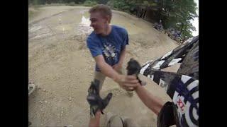 Dirt Bike Track Fight