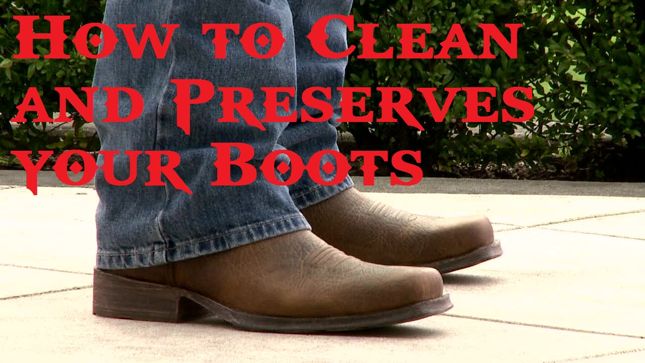 How to Clean and Preserves your Boots - YouTube