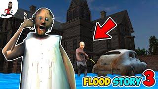 Flood in Granny's house 3 ★ Funny horror Animation Granny and Grandpa vs Aliashraf