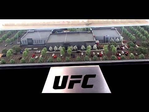 A Look at the New UFC Campus Site in Las Vegas