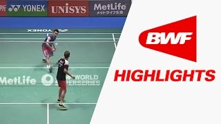 Yonex Japan Open 2016 | Badminton SF – Highlights