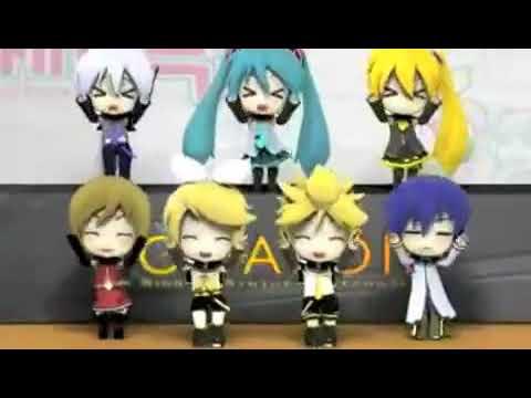 Miku Hatsune sings Caramelldansen (Japanese)