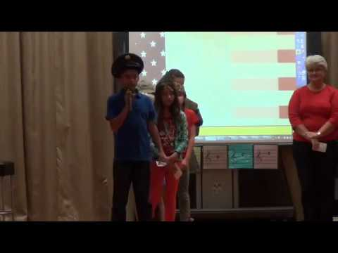 Veterans Day at Whitson Elementary School