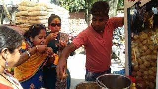 Very Tasty Mouth watering Panipuri (GOLGAPPA/FUCHKA/FUCHA) In Mayapur - Kolkata Street Food