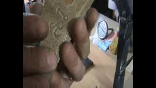 TROQUEL DE LETRAS CASERO, para imprimir con calor en cuero o piel( 4 de 4 )