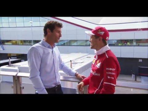 F1 2017 British GP | When Webber met Vettel