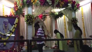 Om Sai Shri Sai Jai Jai Sai - Naam Jaap At BTM Layout Mandir Bangalore