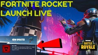 "New Fortnite ""Rocket Launch"" Countdown Today - (Fortnite: Battle Royale Gameplay)"
