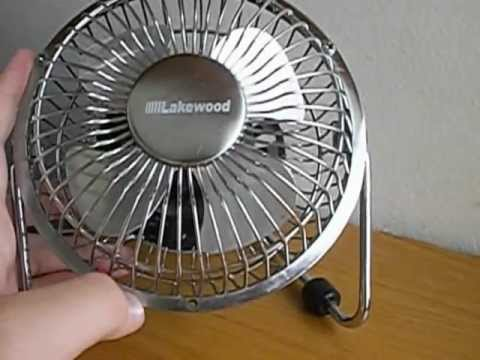 Lakewood Hv 4 Mini Desk Fan