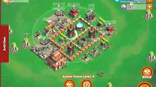 Samurai Siege - Castle Level 3 Farming Base Layout