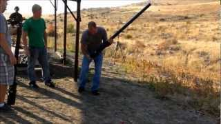 Potato Cannon Shooting And Instructions How Build Your Own Gun