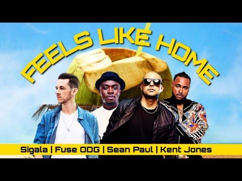 Sigala, Fuse ODG, Sean Paul - Feels Like Home Ft. Kent Jones (Audio)